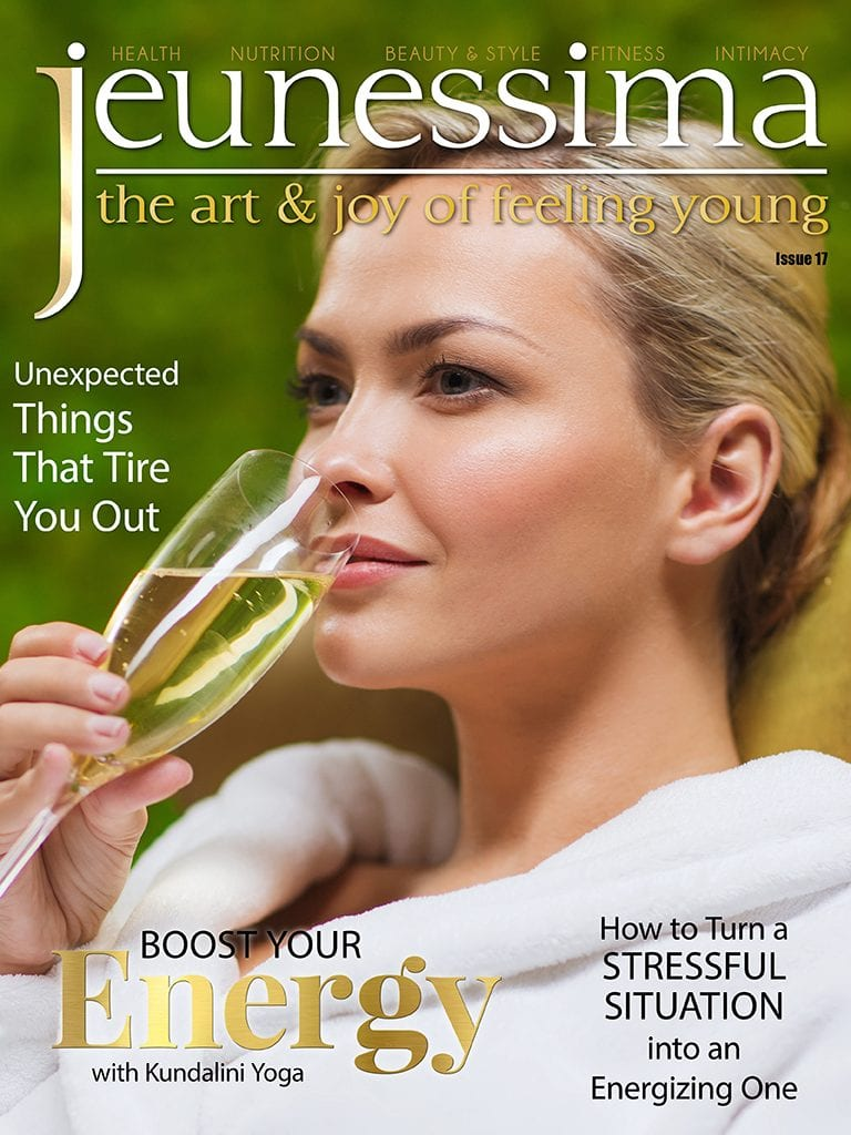 Jeunessima Magazine. The Art & Joy of feeling young ... at any Time ... and Age. The Magazine for busy Women who really want to enjoy Life. Issue 17