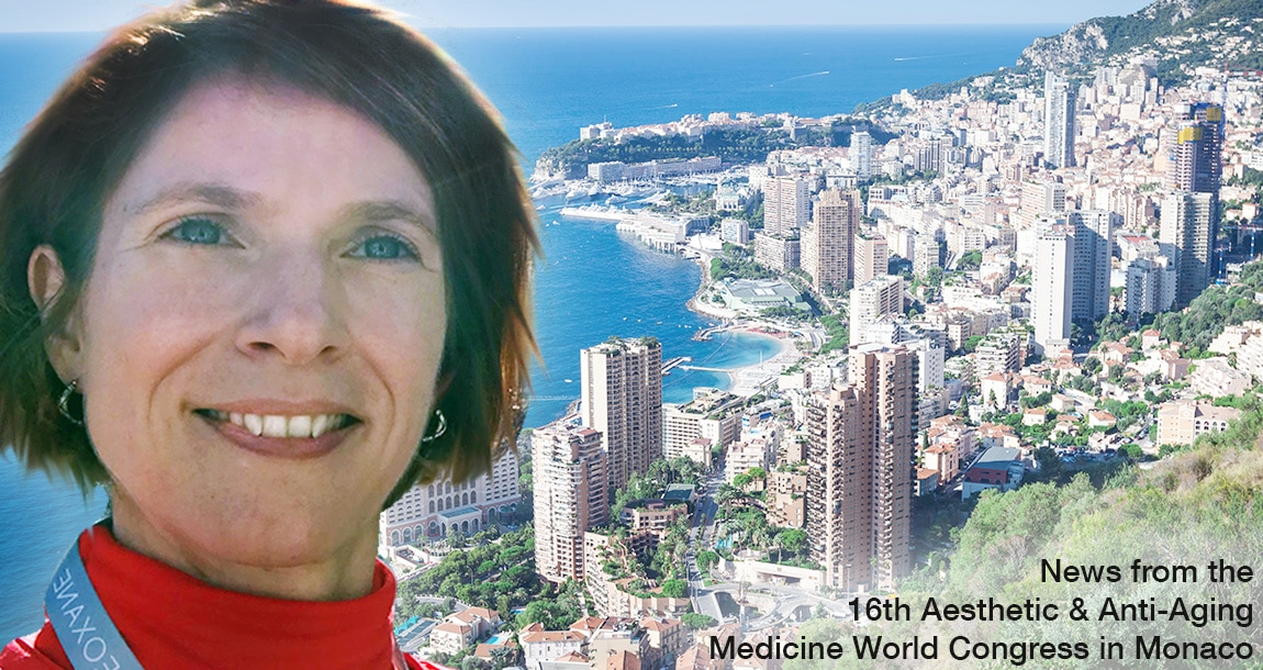 Ines O'Donovan from Jeunessima is reporting about the latest News from the Jeunessima reports the latest News the 16th Aesthetic & Anti-Aging Medicine World Congress in Monaco