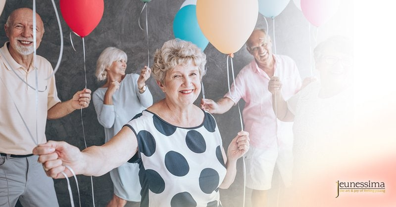 Older people that have more energy can pass as younger than they chronologically are